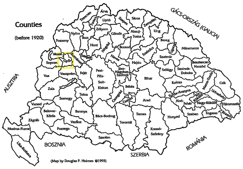 Kish family history kingdom of hungary pre 1920 gyr county highlighted gumiabroncs Images